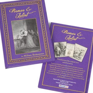 romeo juliet personalized book