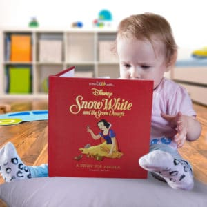 Personalized Disney Snow White book