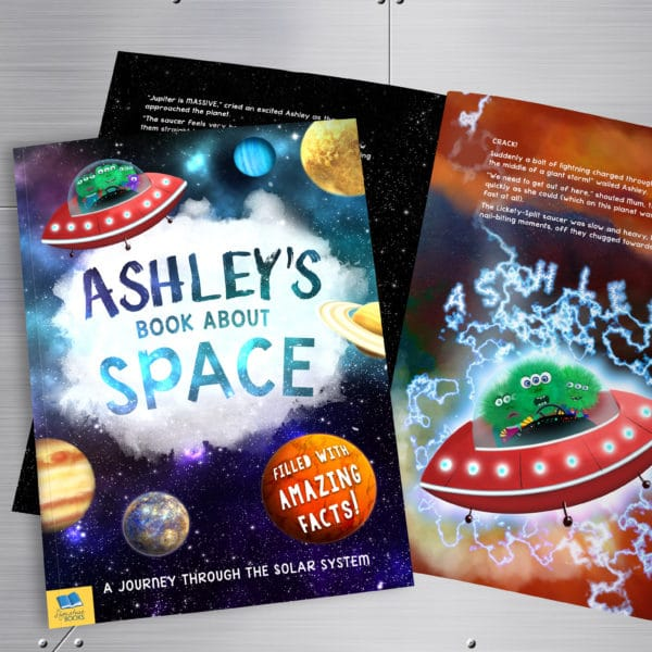 Personalized Book About Space