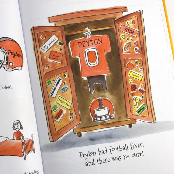 Pick your Football team personalized story