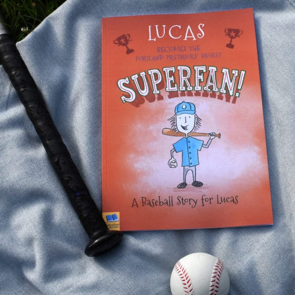 Pick your Baseball team personalized story