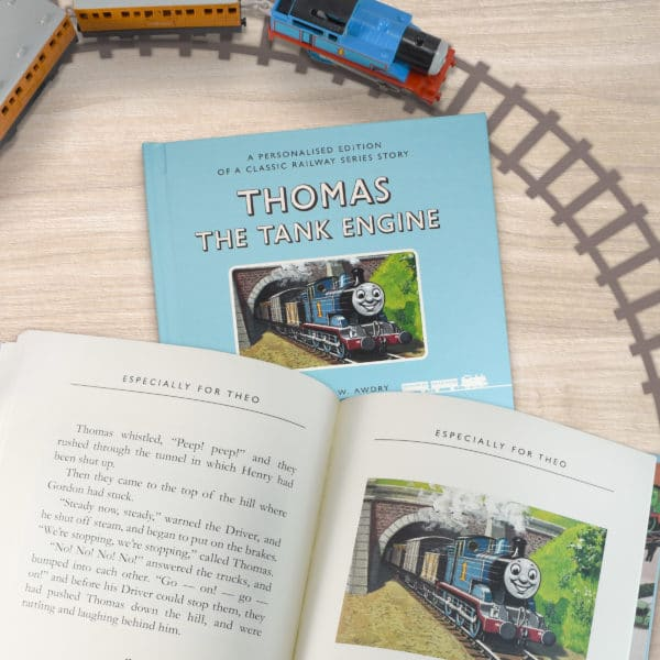 Thomas The Tank Engine Personalized Book
