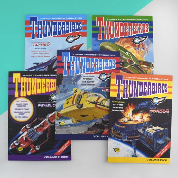 Thunderbirds Comic books