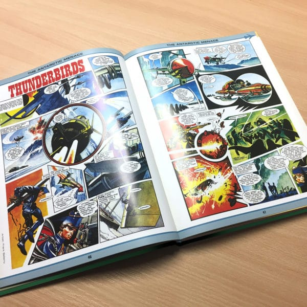 Thunderbirds Ultimate Comic book