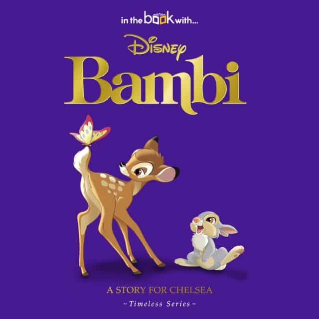 Personalized Disney Bambi book