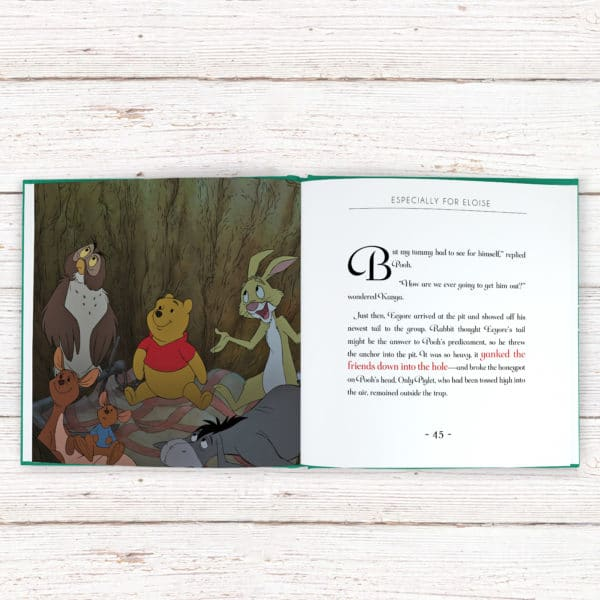 Personalized Winnie the Pooh Book