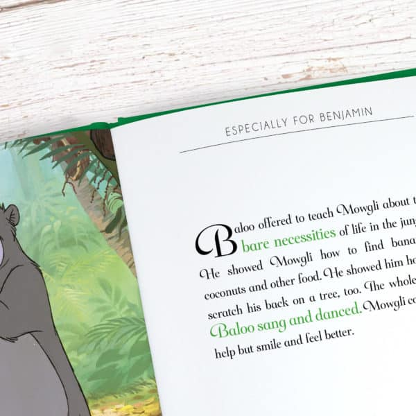 Personalized Disney Jungle Book Story