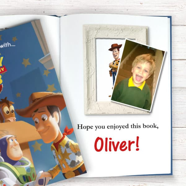 Personalized Disney Toy Story 3 book