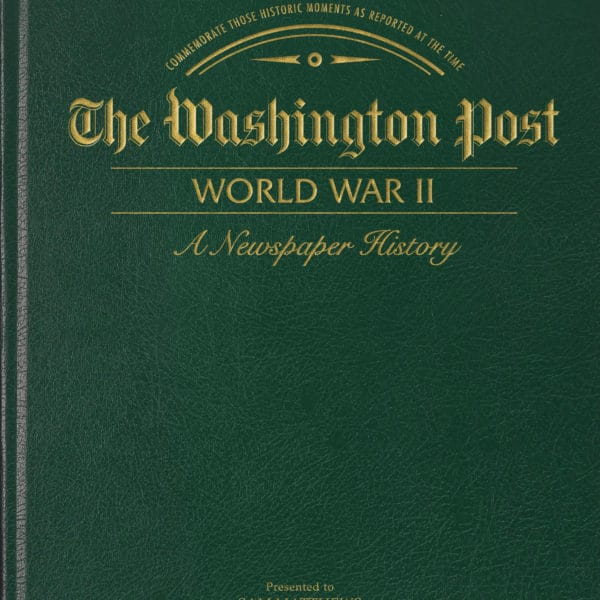 world war 2 newspaper book