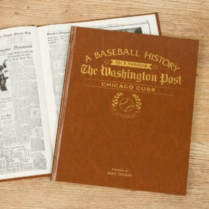 chicago cubs newspaper book