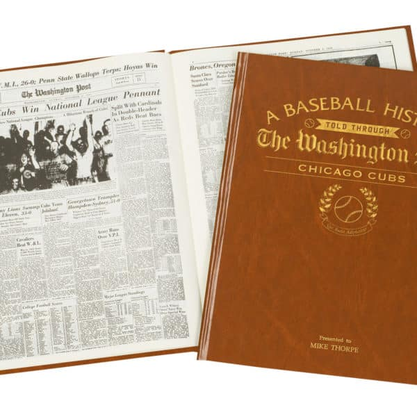 History of Baseball Chicago Cubs Book