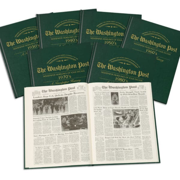 Newspapers of your decade book