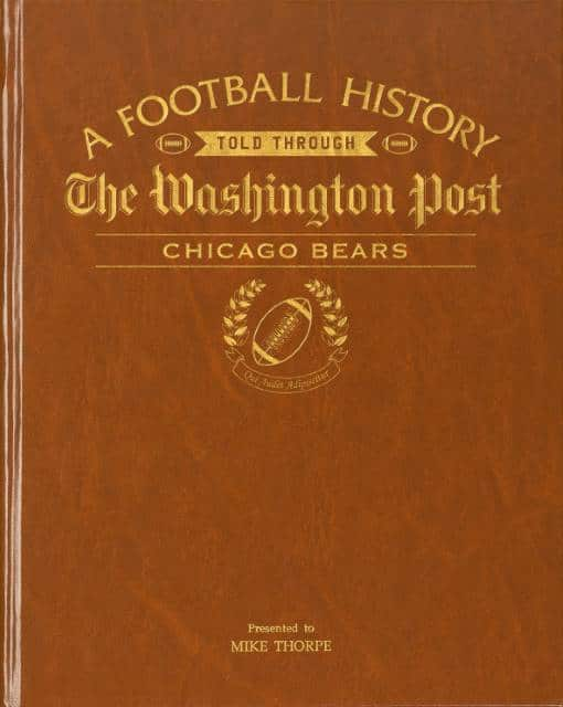 chicago bears history book