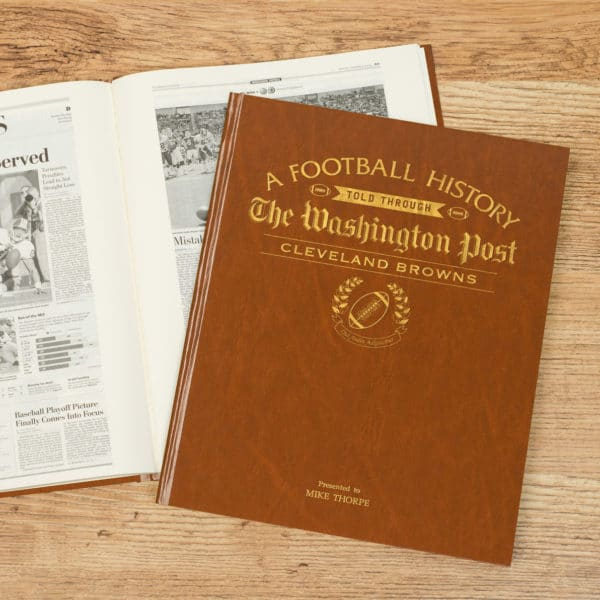 cleveland browns history book