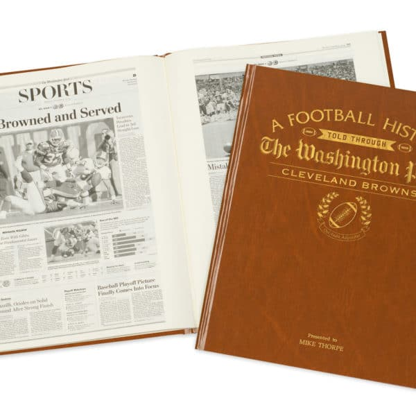 History of Football Cleveland Browns Book