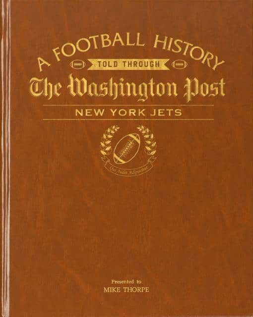 new york jets history book