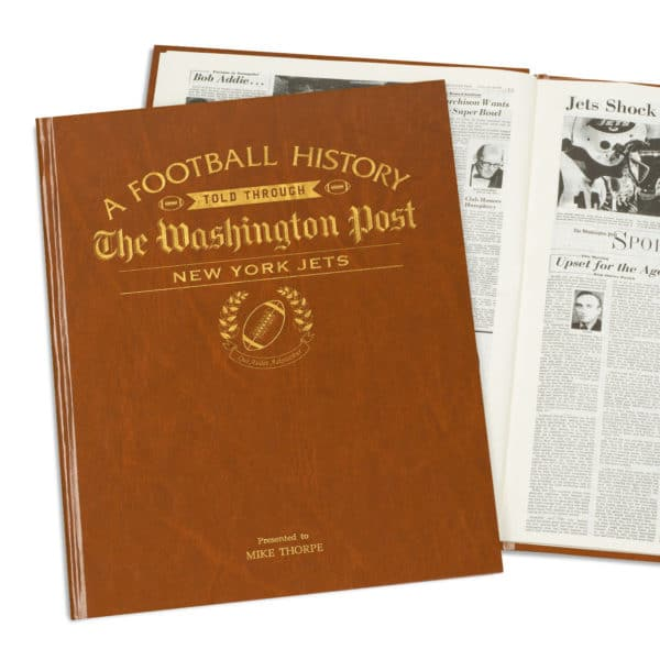 History of Football New York Jets Book