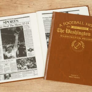 redskins football book