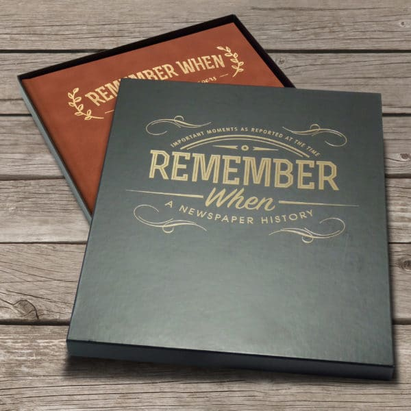 Remember When book in gift box