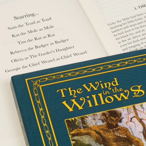 Wind in the Willows personalized book