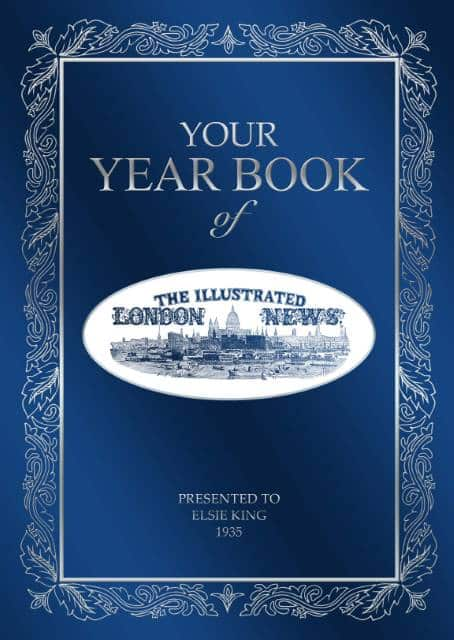 personalized illustrated london year book