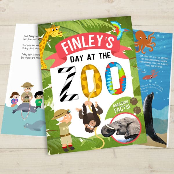 My Day at the Zoo book