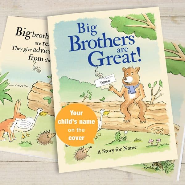 personalized big brother book