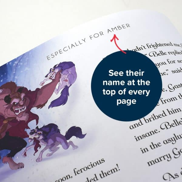 personalized disney princess book