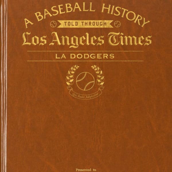 History of Baseball LA Dodgers
