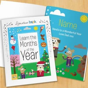 Months of the Year Book