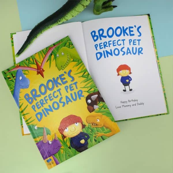 personalized dinosaur book