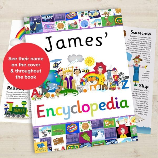 personalized encyclopedia for kids