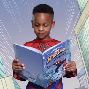 Personalized Spiderman Book