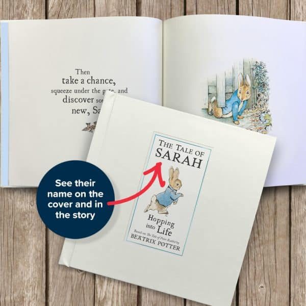 personalized peter rabbit book