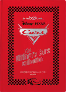 Personalized Disney Cars Collection Book