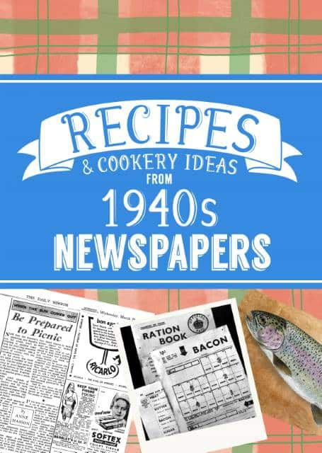 recipes from the 1940s