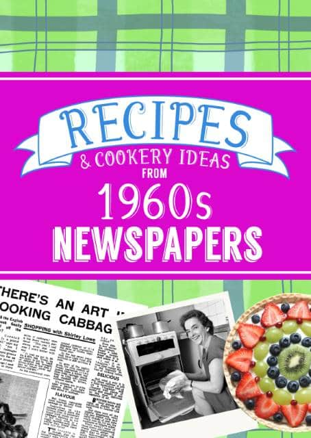 recipes from the 1960s book