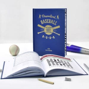 Baseball quiz book