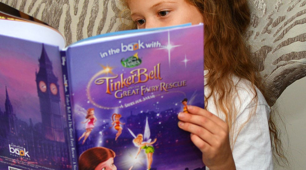 Personalized Tinkerbell Book