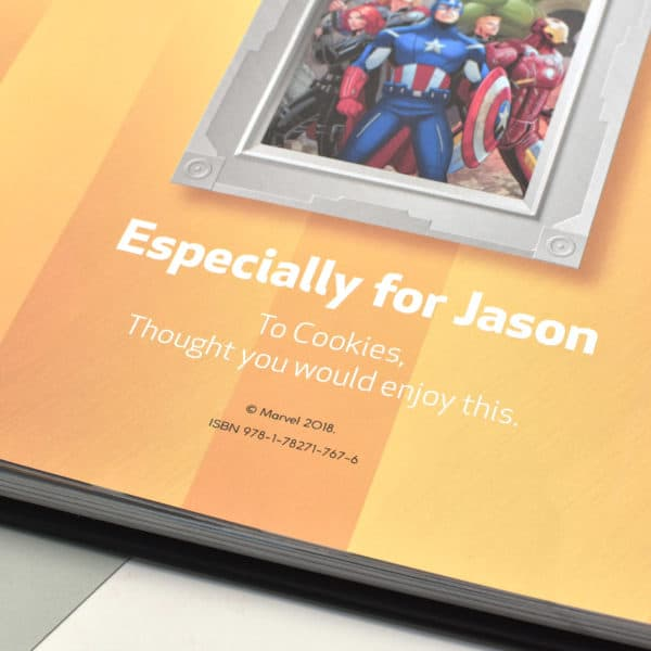Personalized Marvel Ultimate Collection Book