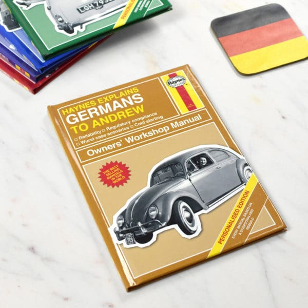 Personalized Haynes Explains Germans