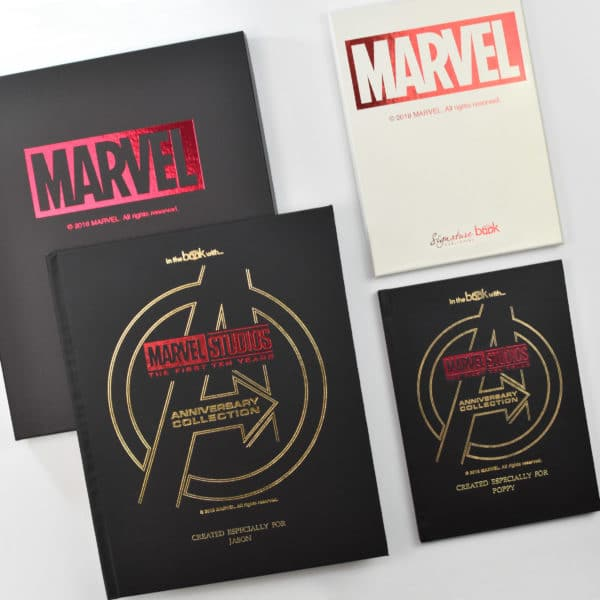 Personalized Marvel Collection Book