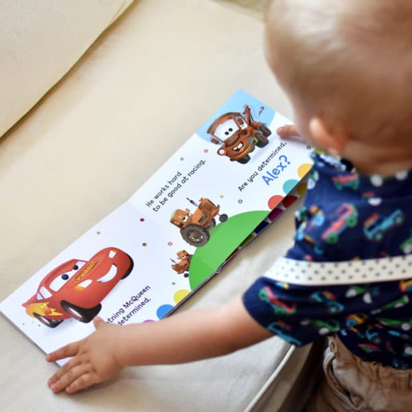 Personalized Pixar Board Book
