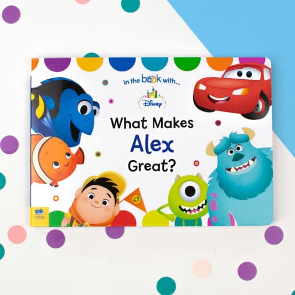 Personalized Disney Pixar Board Book