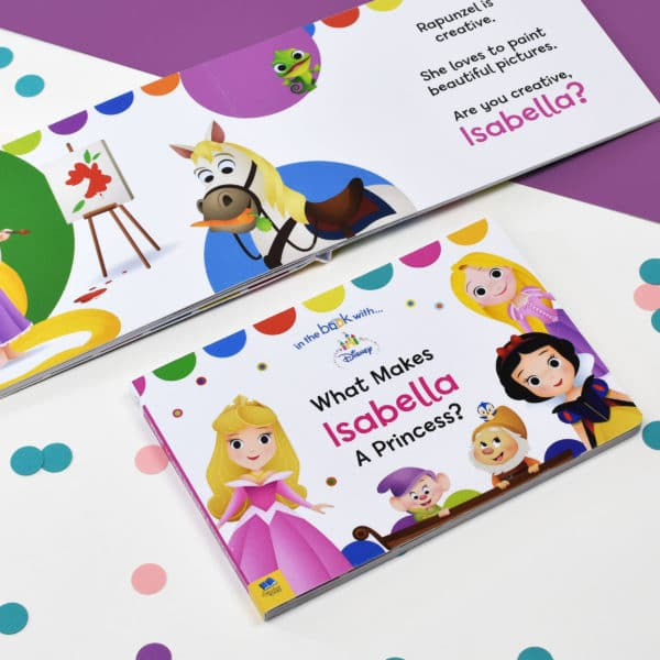 Personalized Disney Princess Board Book