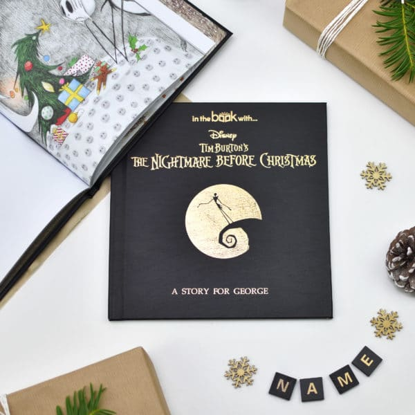 Nightmare before christmas story book