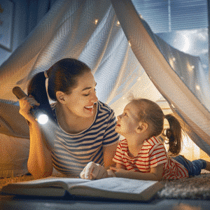 advantages of reading with your child