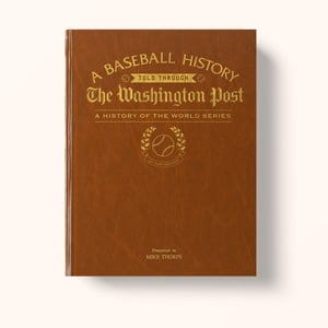 Personalized Baseball Team Books