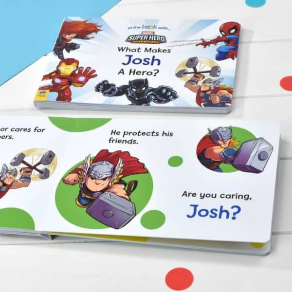 personalized superhero book