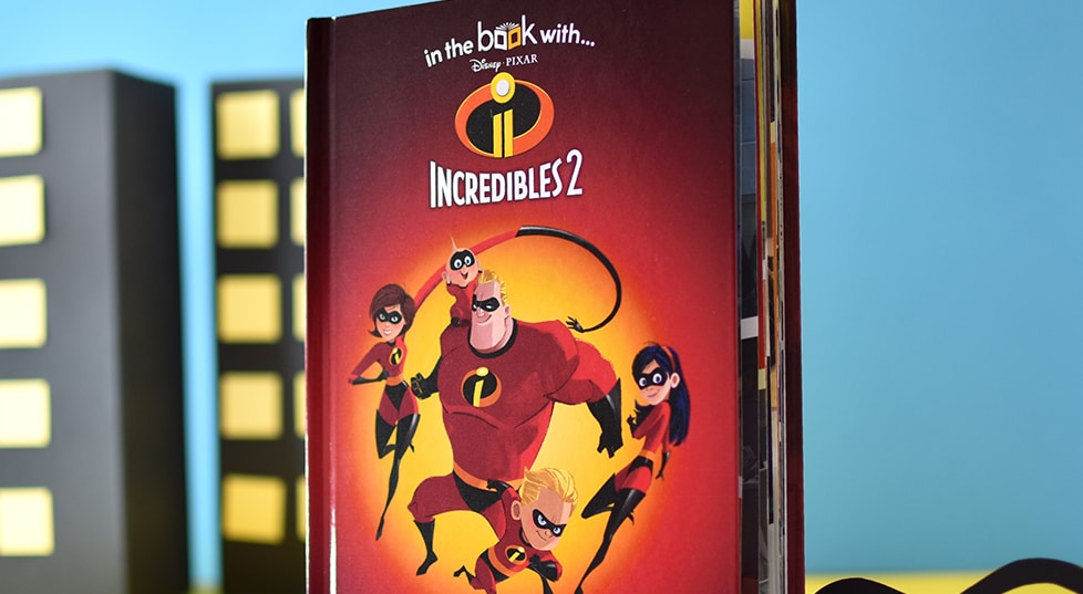 Personalized Incredibles 2 Book